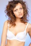 Beautiful woman in bra Stock Photography