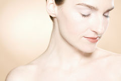 Beautiful Woman With Clean Fresh Skin Royalty Free Stock Photography