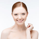 Beautiful Woman with Clean Fresh Skin Royalty Free Stock Photo