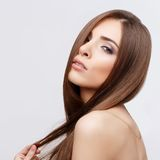 Beautiful Woman with Clean Fresh Skin Royalty Free Stock Images