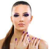 Beautiful woman close up Stock Photo