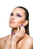 Beautiful woman close up Stock Photography