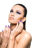 Beautiful woman close up Royalty Free Stock Images