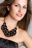 Beautiful Woman Closeup Stock Photography