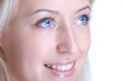 Beautiful woman closeup portrait. Beautiful slavonic woman closeup portrait Royalty Free Stock Image