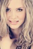 Beautiful woman in cross process effect Royalty Free Stock Photos
