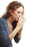 Beautiful woman crying Stock Photography