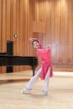 Beautiful woman dancer Stock Photos