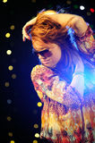 Beautiful woman dancing Royalty Free Stock Photo