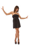 Beautiful woman dancing Royalty Free Stock Photography