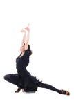 Beautiful woman dancing latino Royalty Free Stock Photos