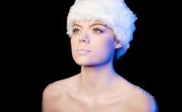 Beautiful woman daydreaming Stock Image