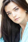 Beautiful woman. Detail portrait of beautiful sexy woman Stock Image