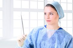 Beautiful woman doctor Stock Photography