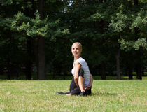 Beautiful woman doing yoga exercises Royalty Free Stock Images
