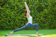 Beautiful woman doing yoga Royalty Free Stock Image