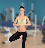 Beautiful woman doing yoga Royalty Free Stock Photography