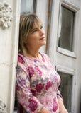 Beautiful woman.(dreams) Stock Photo