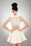 Beautiful woman in dress Royalty Free Stock Image