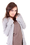 Beautiful woman dressed for winter Stock Photography