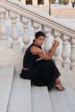 A beautiful woman  elegant Stock Images
