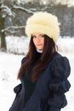 Beautiful woman in elegant dress Royalty Free Stock Photo