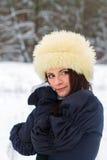 Beautiful woman in elegant dress Royalty Free Stock Photos