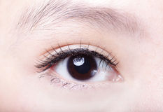 Beautiful woman Eye close up Royalty Free Stock Photo