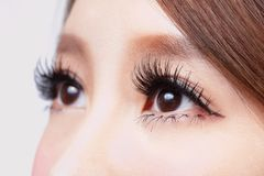 Beautiful woman eye Royalty Free Stock Images