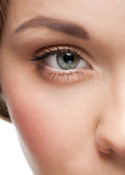 Beautiful woman eye with make-up Royalty Free Stock Image