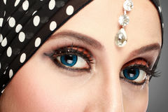 Beautiful woman eye with makeup Royalty Free Stock Photo