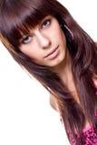 Beautiful woman face Stock Images