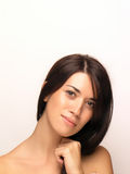 Beautiful Woman Face Stock Photography