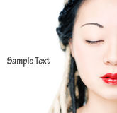 Beautiful woman face Royalty Free Stock Photo