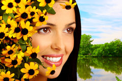 Beautiful woman face Royalty Free Stock Image