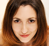 Beautiful woman face. Beutiful woman face portrait Stock Photography