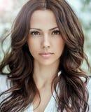 Beautiful woman face - close up Royalty Free Stock Photo