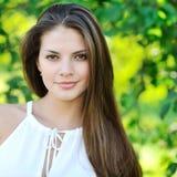 Beautiful woman face - closeup Royalty Free Stock Images