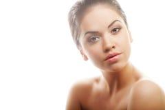 Beautiful woman face Stock Photography