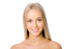 Beautiful woman face Stock Images