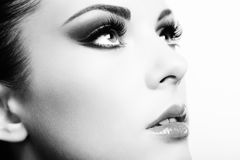 Beautiful woman face Royalty Free Stock Photo