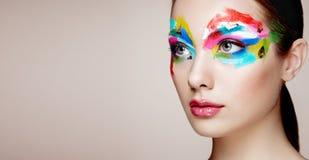 Beautiful woman face Stock Image