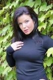 Beautiful woman face - perfect skin royalty free stock image