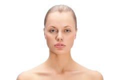 Beautiful woman face portrait Royalty Free Stock Photo