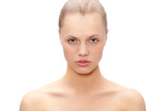 Beautiful woman face portrait Royalty Free Stock Photography