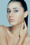 Beautiful woman face portrait Stock Images