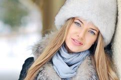 Beautiful woman face portrait Stock Photography