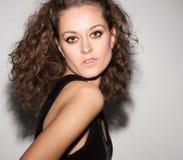Beautiful woman. Fashion art photo Stock Photography