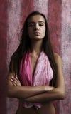 Beautiful woman. Fashion art portrait Royalty Free Stock Photography