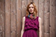 Beautiful woman fashion portrait royalty free stock images